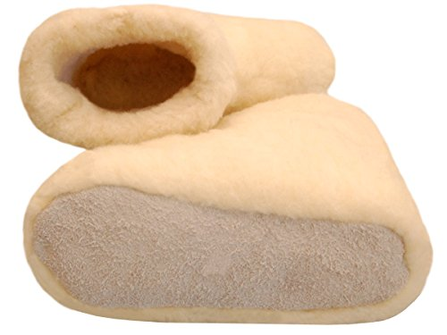 Bawal , Chaussons pour homme beige ivoire