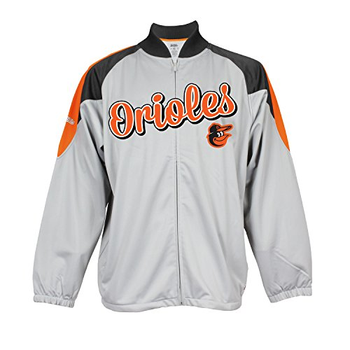 - Stitches MLB Baltimore Orioles Men's Fashion Track Jacket, Grey, XX-Large