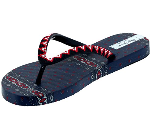 Rita Pepe EU36 Tong Jeans Marine Femme pls70029 Rake qtnrHPRwt