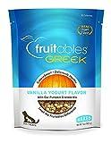 Fruitables Greek Crunchy Dog Treats Vanilla Yogurt Flavor With Pumpkin Granola & Greek Yogurt 7 Oz Larger Image