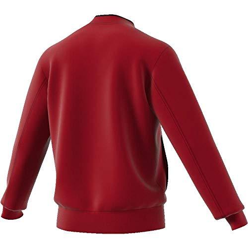 bianco rosso Pes nero Jkt Con18 Giacca Rosso Adidas Uomo 68qRYZ56