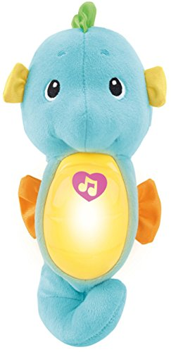 Fisher-Price Soothe & Glow Seahorse Toy, Blue