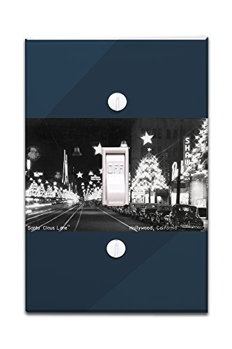 Hollywood, California - Santa Claus Lane Parade on Hollywood Blvd Photograph (Light Switchplate Cover)