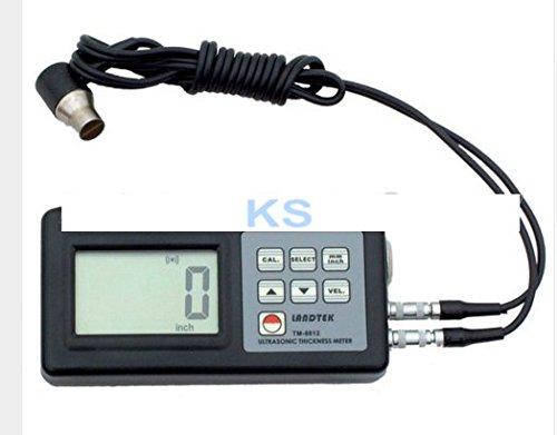 Kohstar New Thickness Gauge Meter Tester Steel PVC Digital Testing TM-8812 Ultrasonic Thickness Measurement 1.0-200mm (Ultrasonic Meters Thickness)
