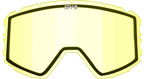 Spy Optic Raider Snow Goggles Replacement Lens, One Size (Yellow - Goggles Lenses Spy Replacement