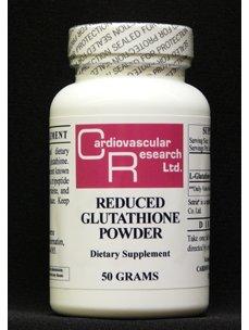 Ecological Formulas- Reduced Glutathione Powder 50 g - Glutathione Powder
