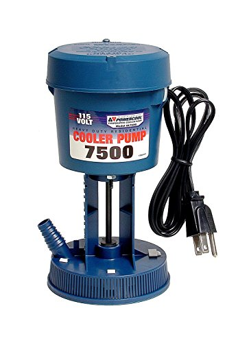 Dial 1175 Pump- Ul7500 115 V 1/60 Hp 360 Gph Ul Blue