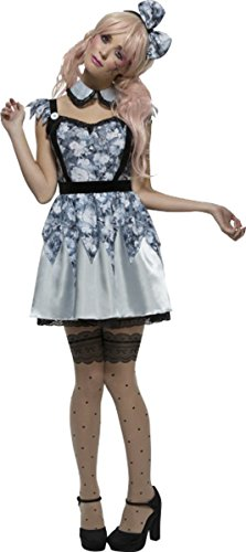 [Fever Broken Doll Annie Costume Uk Dress 16-18] (Broken Doll Costume For Adults)