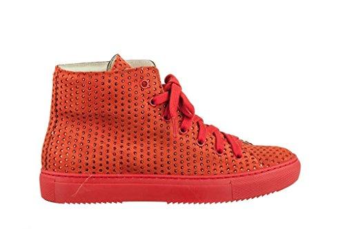 Sneakers Turnschuhe aus Leder Slipper Sportlich Damen RIPA shoes - 05-6106