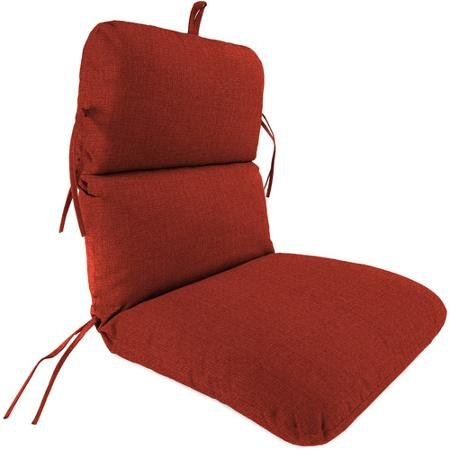 Jordan Manufacturing Outdoor Replacement Chair Cushion, Husk Texture Brick (Jordan Replacement Cushions)
