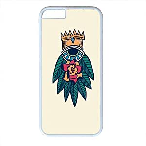 iphone 6 case,Protective soft Interior Scratch Protection Metallic Finished Base with Colorful Style Case for iPhone 6 (4.7 inch),sailor jerry eye tattoo