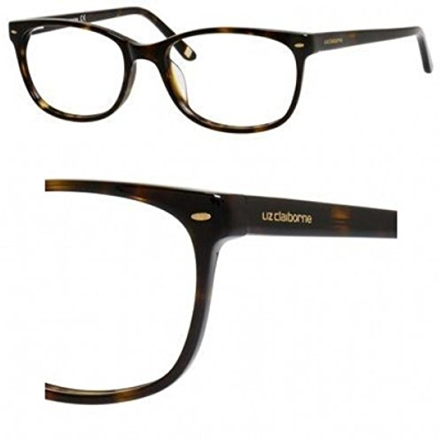 Liz Claiborne Shoes - LIZ CLAIBORNE Eyeglasses 607 0086 Dark Havana 53MM