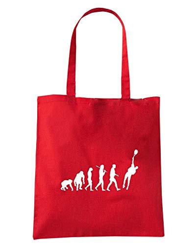 EVOLUTION Shopper Borsa TENNIS OLDENG00754 Rossa Speed OF Shirt nTqZaaXA