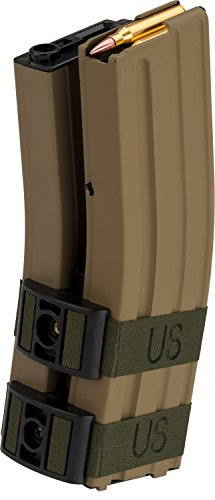 Evike - Matrix 1300rd Electric Auto Winding Dual Magazine for M4/M16 Series Airsoft AEG (Type: Sound Control / (M16 Bullet)