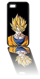Super Saiyan Goku iPhone 5C Black Silicone Case