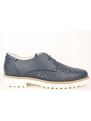 Mephisto Dames Lace Up Brogues Blauw