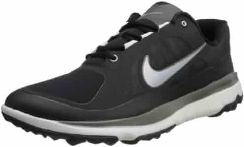 best website ea1cc 9599c NIKE Golf Men s NIKE FI Impact Golf Shoe, Black Light Base Grey Metallic