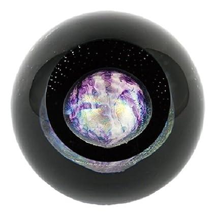 glass eye studio celestial pluto paperweight - Glass Eye Studio