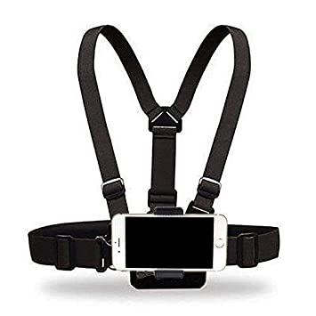 hot sale online 7e20c 5b6df Amazon.com: Yoogeer Cellphone Selfie Chest Mount Chest Harness Strap ...
