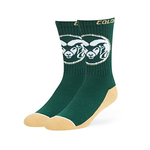 OTS NCAA Colorado State Rams Anthem Sport Socks, Large, Dark Green (Colorado Basketball)