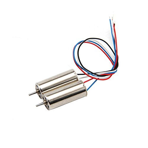 Drone UAV Parts 1 Pair SH5HD RC Quadcopter Spare Parts CW/CCW Motor Helicopter Replacement Aircraft Accessories by SMOXX