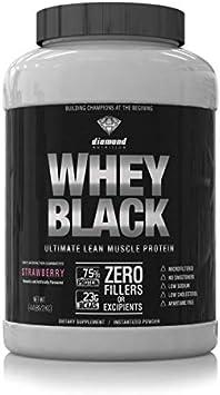 WHEY BLACK DAIMOND NUTRITION 2000 GR (COOKIES, 2000): Amazon ...