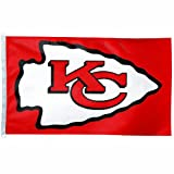 NFL Kansas City Chiefs 3-by-5 foot Flag