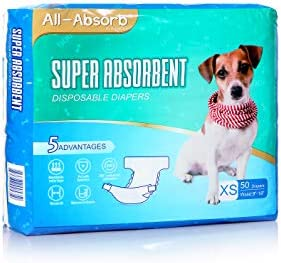 All Absorb Disposable Dog Diapers X Small