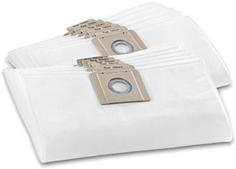 10 bolsas de fieltro para aspiradoras Kärcher T15/1 y T17/1 como 6.907-017.0 by One! All by One: Amazon.es: Hogar