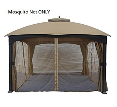 Gazebo Mosquito Netting Panels 4 Wall For Tent Canopy Outdoor Easy Pop 10 X 12