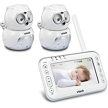 Amazon.com : VTech VM344-2 Owl Video Baby Monitor with