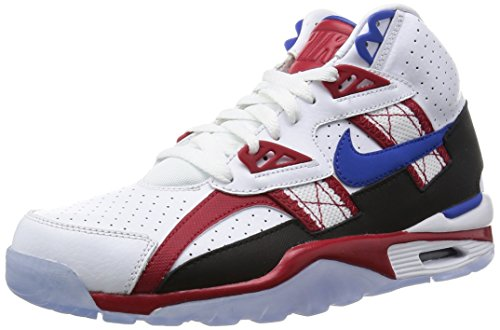 Men's Nike Air Trainer SC High LE QS 811648-146 wht/game royal/gym red (11.5) (Trainer Cross Sc Nike)