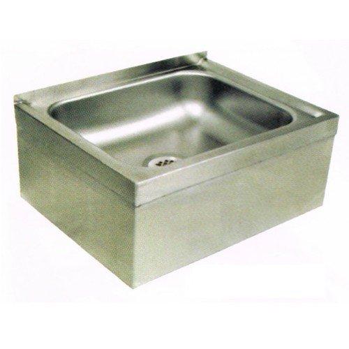 John Boos EMS-2016-6 Stainless Steel Mop Sink, 6'' Deep Sink Bowl, 24-5/8'' Length x 19-1/8'' Width by John Boos