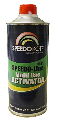 Universal Activator for Speedokote primers, hot rod black, etc, quart SMR-211-Q by Speedokote