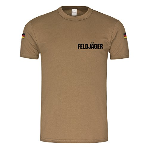 Field hunter German Bundeswehr Police Gardestern Military MP chain (Chains Dog T-shirt)