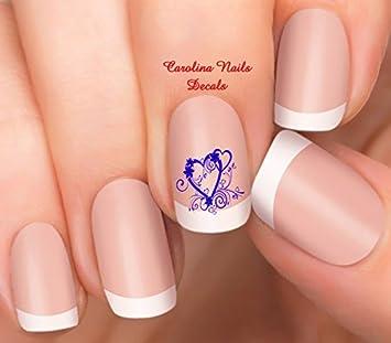 Amazon.com: Día de San Valentín color morado diseño de ...