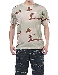 XinAndy Military 3 Color Desert Camo BDU T-Shirts Uniform