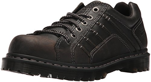 Dr. Martens Men's Keith Lace up,Black,11 F(M) UK / 12 D(M) US by Dr. Martens