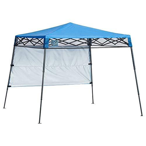 Quik Shade 6 ft. x 6 ft. Go Hybrid Compact Backpack Canopy - Blue