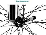 Ruosaren 1 Pair Stainless Steel Bicycle Wheel