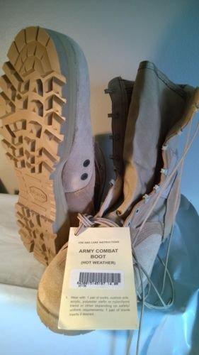 Footwear Men's Mil-Spec Hot Weather Desert Boot,Desert Tan,us 15XW ()