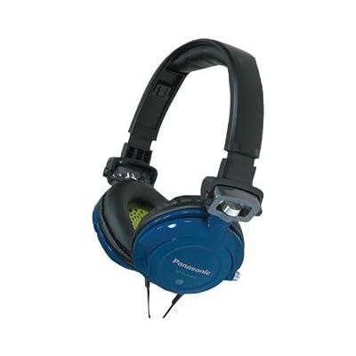 Panasonic Rp-Djs400-A Djs400 Dj Street-Style Headphones (Blue) (Panasonic RP-DJS400-A)