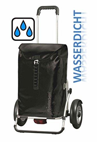 Andersen Royal Shopper Plus Ortlieb schwarz wasserdicht Fahrrad-Anhänger mit Luftreifen