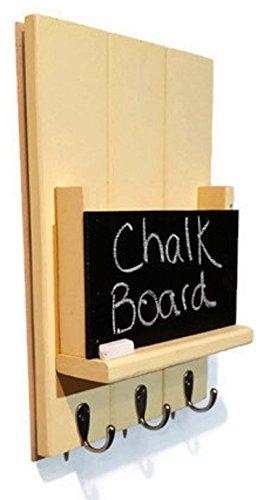 Renewed Décor Sydney Mail Organizer with Chalkboard featuri
