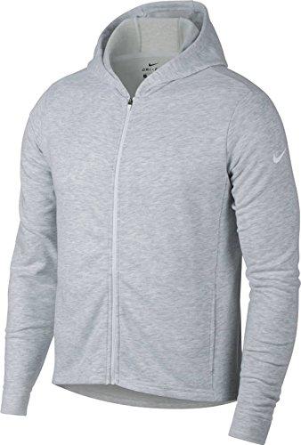 Nike Womens Fleece Lined Dri Fit Hoodie Gray L