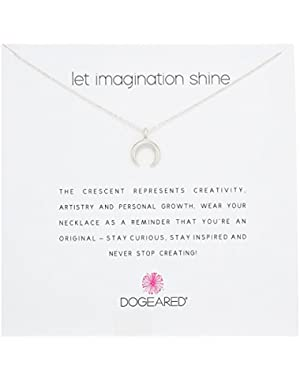 Let Imagination Shine Crescent 16 Boxed Necklace