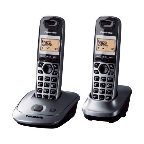 Panasonic KX-TG2522 2-Handset Digital Cordless Telephone wit