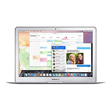 Apple MacBook Air MJVE2LL/A 13-inch Laptop (1.6 GHz Intel Core i5,4GB RAM,128 GB SSD Hard Drive, Mac OS X)