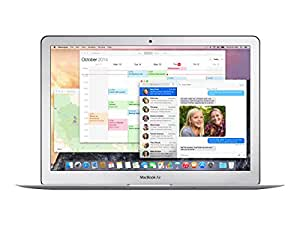 Apple MacBook Air MJVE2LL/A 13-inch Laptop (1.6GHz Core i5,4GB RAM,128GB SSD)