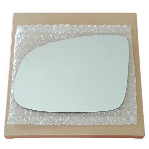 Mirror Glass and Adhesive 98-03 Pontiac Grand Prix Driver Left Side Replacement ()